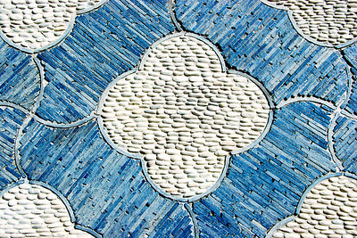 Patterns of Pebbled Tiles