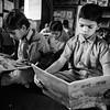 Young boys read books in the school library provided by Room to Read India.<br /> Organization: Room to Read<br /> Rajasthan, India. March 2015.<br /> ---------<br /> Des jeunes garçons lisent des livres dans la bibliothèque de l'école fournie et remplie par Room to Read Inde.<br /> Organisme: Room to Read<br /> Rajasthan, , Inde. Mars 2015.