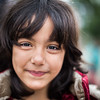A young Afghan refugee girl on her way to the transit camp of Gevgelija.<br /> Gevgelija, Macedonia. October 2015.<br /> -----------<br /> Une jeune fille afghane réfugiée en chemin vers le camp de transit de Gevgelija.<br /> Gevgelija, Macédoine. Octobre 2015.