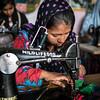 Women from the Kalandar tribe learn different life skills  such as sowing in the women empowerment program of Wildlife S.O.S.<br /> Organization:  Wildlife S.O.S<br /> Agra, Uttar Pradesh, India. February 2015.<br /> ---------<br /> Des femmes de la tribu des Kalandar apprennent différentes métiers comme la couture dans le programme de support aux femmes de Wildlife S.O.S.<br /> Organisme:  Wildlife S.O.S<br /> Agra, Uttar Pradesh, Inde. Février2015.