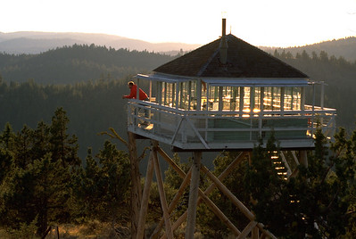 Fire Tower, Malheur National Forest, Oregon