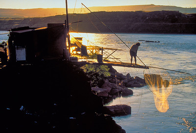 Native Dip Net Fisherman, Columbia River