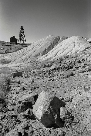 Mine Tailings, Butte Montana