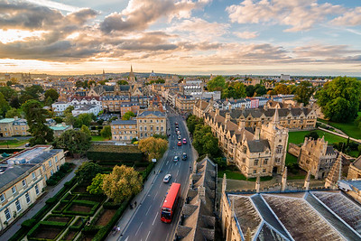 City of Dreaming Spires from Magdalen Tower