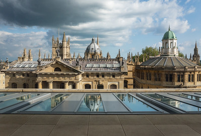 Dreaming Spires from the Weston Library II