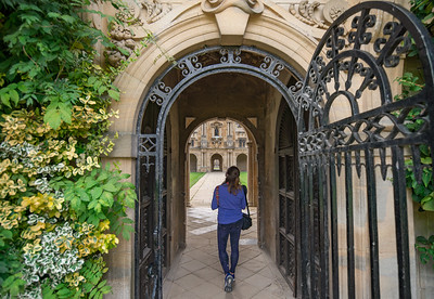 Entering Canterbury Quad