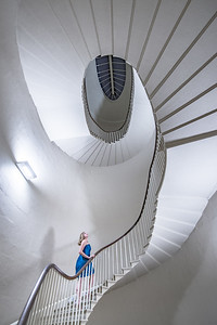 Inside the Radcliffe Observatory