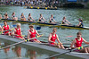 Summer Eights rowers