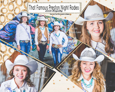 2016 That Famous Preston Night Rodeo Jr Queen Royalty