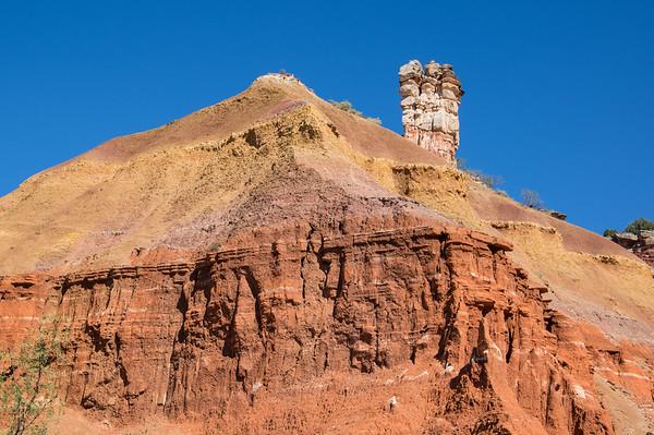 Lighthouse Trail, Palo Duro Canyon, Canyon, TX (Sep 2018)