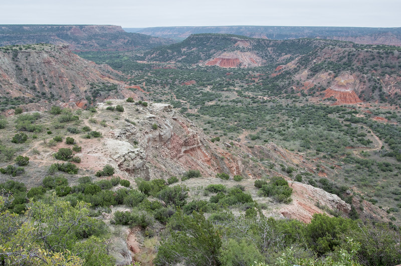 CCC Overlook at Visitor Center, Palo Duro Canyon, Canyon, TX (Sep 2018)