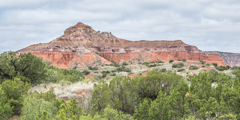 Capitol Peak, Lighthouse Trail, Palo Duro Canyon, Canyon, TX (Sep 2018)