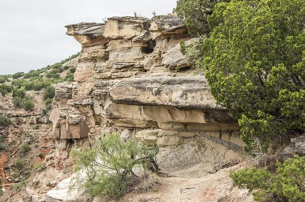 CCC Trail, Palo Duro Canyon, Canyon, TX (Sep 2018)