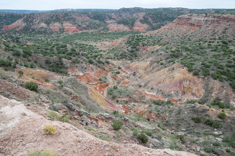 CCC Trail, Palo Duro Canyon, Canyon, TX (Sep 2018)