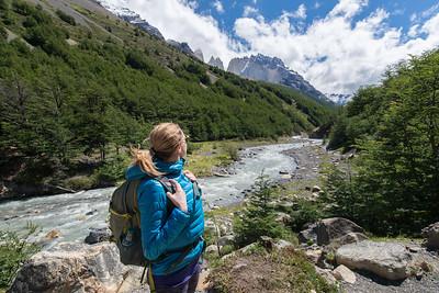 Valle Ascencio, Torres del Paine
