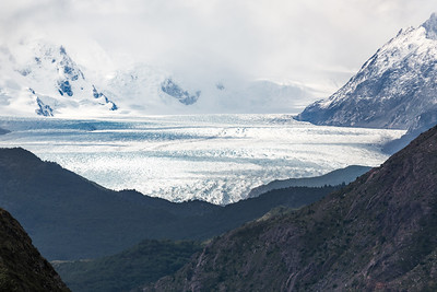 Grey Glacier from afar