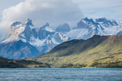 Cuernos del Paine from Puente Weber