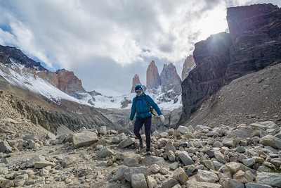 Torres del Paine - homeward bound
