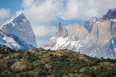 Cordillera del Paine landscape
