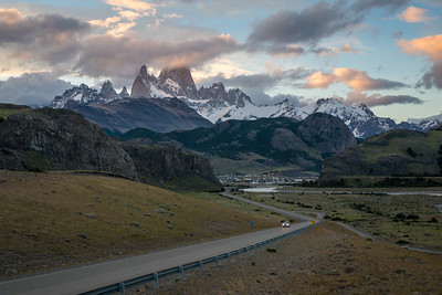 Road to El Chaltén