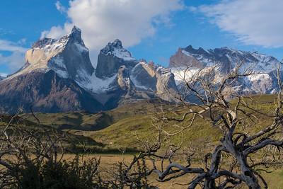 Cuernos del Paine landscape