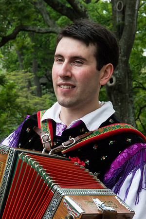 Lithuanian Accordion Player