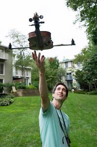 Violin drone
