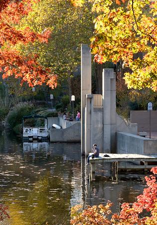 Lake Anne in the fall