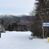 Day 2 (12/30/2017): Skiing at Waterville Valley with Mount Oseola in the background