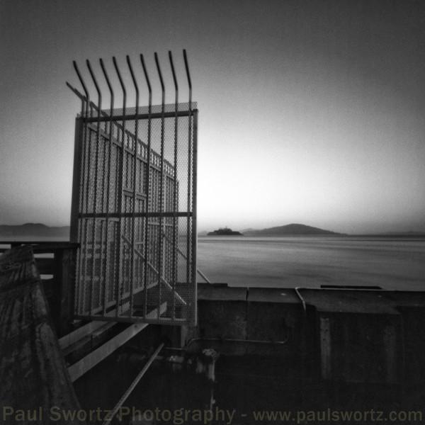 Alcatraz Island  from Pier 39