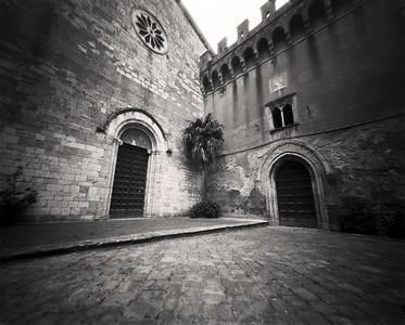 st. jerome castle, narni, italy