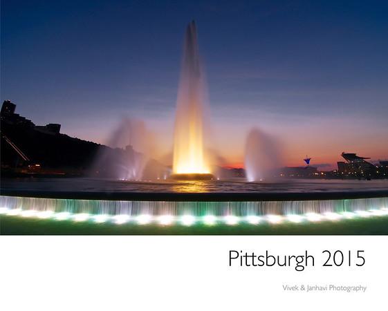Pittsburgh 2015 Wall Calendar