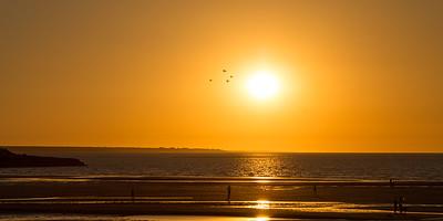 Passing the Sun