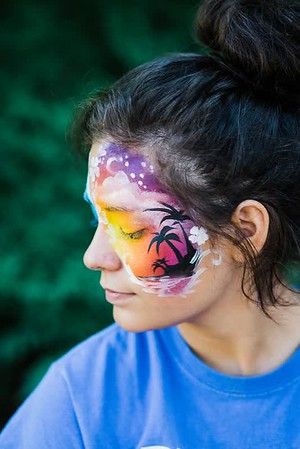 Sunset Facepaint
