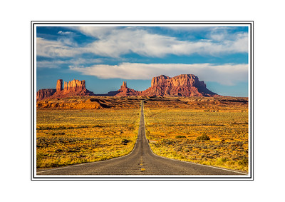 Forrest Gump Road to Monument Valley