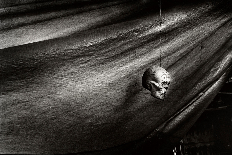 Hanging calavera. Oaxaca, Mexico. 2003. From Early Photographs.