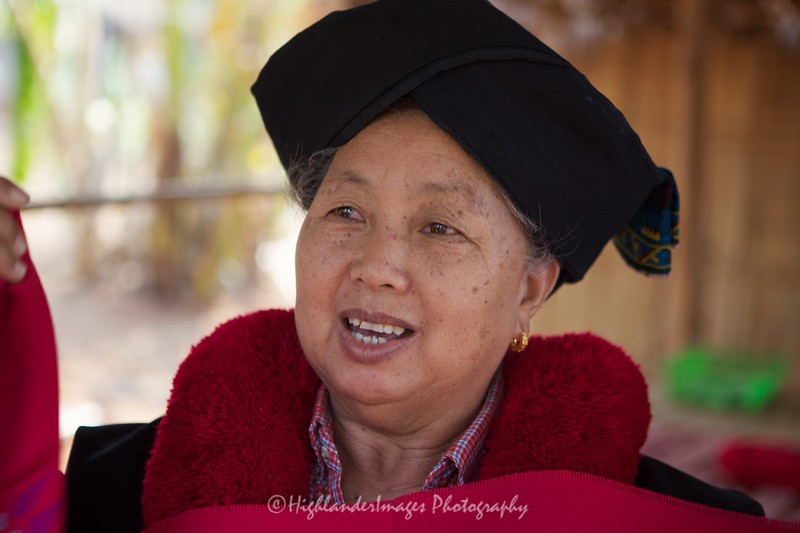Yao Hill Tribe Woman, North Thailand