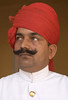 Palace guard, Jaipur, India