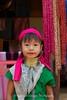 Karen Hill Tribe Girl, North Thailand