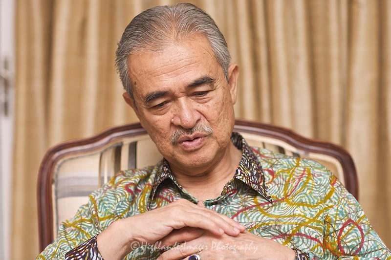 Putrajaya -- July 19, 2009 --Tun Abdullah bin Haji Ahmad Badawi at home in Putrajaya (Stuart Taylor)