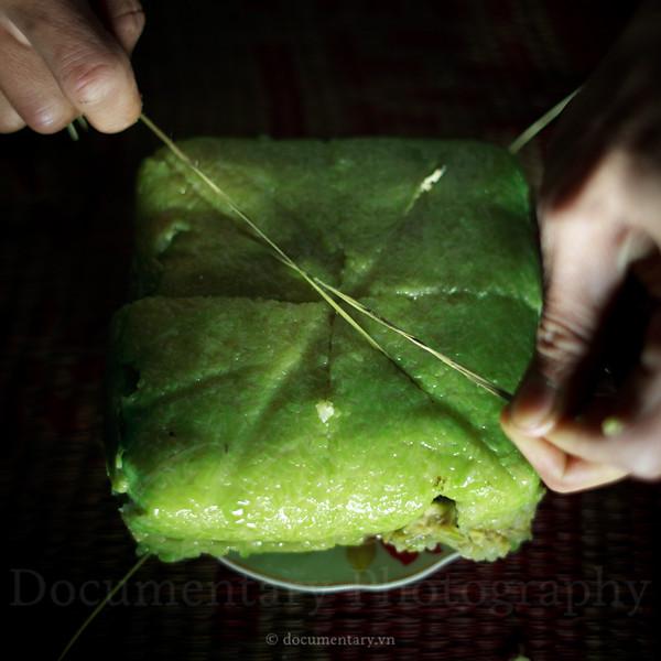 Cutting bánh chưng