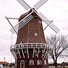 Project 365: December 10 - Windmill. A large presence in Orange City. They seem to be proud of their Dutch heritage.