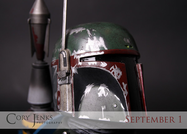 Project 365: September 1 - Boba Fett. Only the greatest bounty hunter ever!