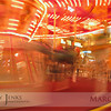Project 365: March 11 - Slow down. This carousel looks super fast with a slow shutter speed. Kids were screaming flying off at all angles.