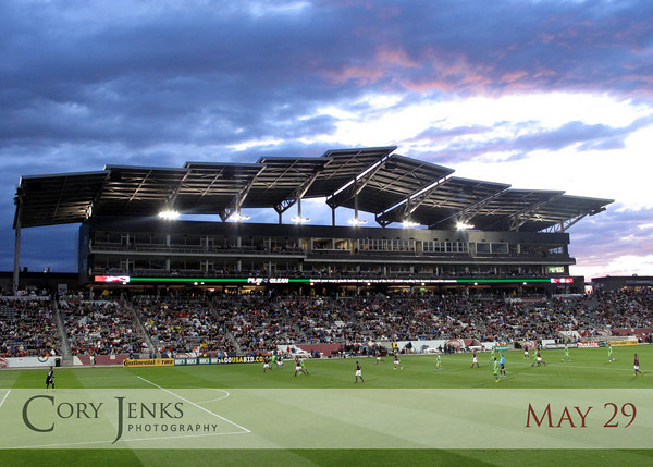 Project 365: May 29 - Rapids. A long day capped off by a nice evening at Dick's Sporting Goods Park watching the Colorado Rapids.
