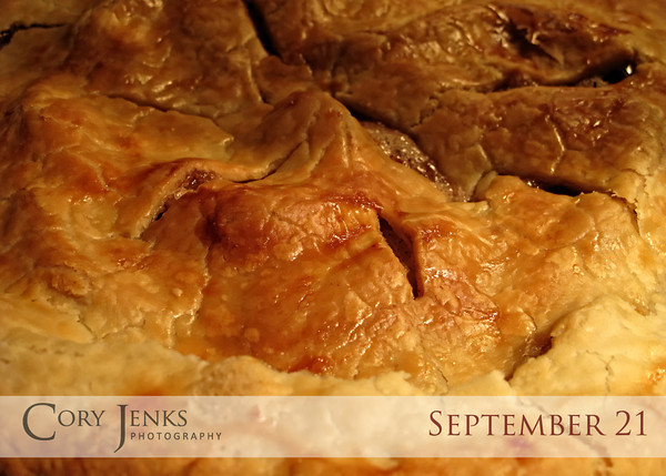Project 365: September 21 - Apple Pie. Walked into the house to the wonderous smells of fresh baked apple pie!
