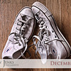 Project 365: December 16 - Classic Kicks. Nothing quite like a confortable pair of some old-school Converse Chuck Taylors.