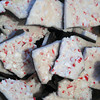 Project 365: December 23 - Peppermint Bark. Peppermint bark with dark chocolate was a hit with the extended family at the reunion.