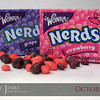 Project 365: October 26 - Nerds. Some say you are what you eat. You can eat Nerds, Runts, Mike & Ikes, even Goobers. Me, I prefer Big Hunks.