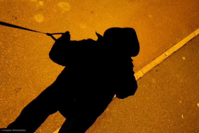 006 - Autoportrait Dog Walking